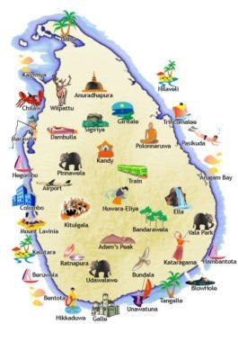 sri-lanka-zemljevid